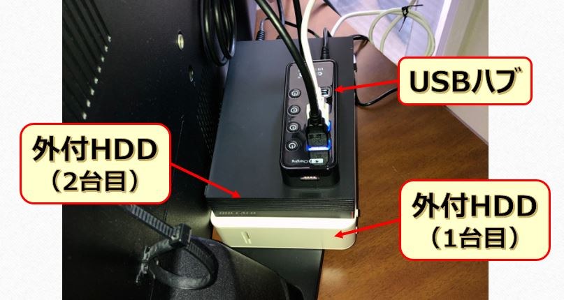 テレビ録画HDDの図5